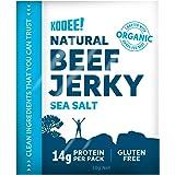 KOOEE! Grass-fed Beef Jerky Classic Sea Salt, 10 Count, Classic Sea Salt