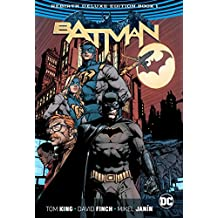 Batman The Rebirth Deluxe Edition Book 1