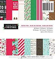 "Pebbles Paper Pad 6""X6"" 36/Pkg-Home For Christmas (並行輸入品)"
