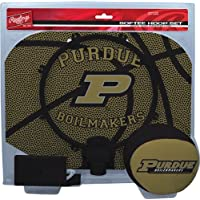 NCAA Rawlings Purdue Boilermakers Slam Dunk Softee Hoop Set