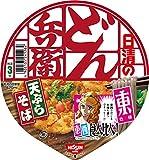 日清のどん兵衛 天ぷらそば 食べ比べ東 100g