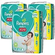 【ケース販売】 パンパース オムツ パンツ さらさらパンツ M(6~11kg) 222枚 (74枚×...