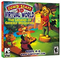 Jumpstart 3D Virtual World: The Legend of Grizzly McGuffin [並行輸入品]