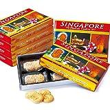 シンガポール 土産 マーライオン マカデミアナッツクッキーミニ 6箱セット (海外旅行 シンガポール お土産)