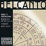 Belcanto ベルカント コントラバス弦3/4セット BC600 (BC61,BC62,BC63,BC64)