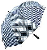 キャスコ(Kasco) ゴルフ傘 千鳥柄晴雨兼用ワンタッチ日傘 SBU-028