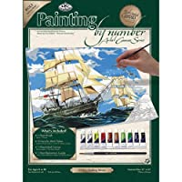 "Paint By Number Kits 11""X14""-Sailing Ships (並行輸入品)"