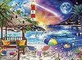 バッファローゲーム – ナイト&デイコレクション – Life's A Beach – 1000ピースジグソーパズル