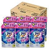 アタックNeo 抗菌EX Wパワー 洗濯洗剤 濃縮液体 詰替用 大容量 1300g(3.6倍分)×6個 アタック 花王