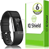 fits Fitbit Charge 2 Screen Protector (6-Pack), IQ Shield LiQuidSkin Full Coverage Screen Protector for fits Fitbit Charge 2