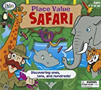 Place Value Safari: Discovering Ones, Tens, and Hundreds! [With 2 Six-Sided Dice and 4 Safari Boards, 15 Jungle Cards, 4 Counters and Jungle Playing B [並行輸入品]