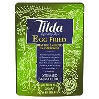 Tilda Steamed Basmati Rice Egg Fried (250g) 揚げティルダ蒸しバスマティ米の卵( 250グラム)