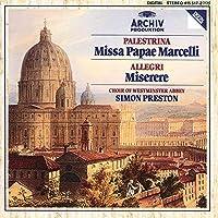 Palestrina: Missa Papae Marcelli / Allegri: Miserere (1990-10-25)