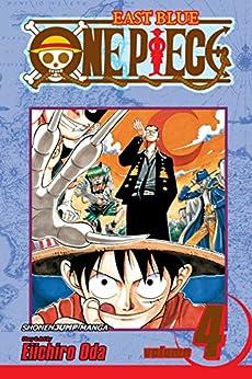 One Piece, Vol. 4: The Black Cat Pirates (One Piece Graphic Novel) by [Oda, Eiichiro]