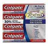 コルゲートトータル高度なホワイトニング歯磨き粉 226g x 4個パック -Colgate Total Advaned Whitening Toothpaste[並行輸入品]