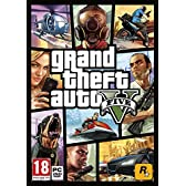 Grand Theft Auto 5 (GTA V) グランド·セフト·オート5 - (PC DVD) UK IMPORT