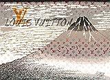 ルイ・ヴィトン Mt. Fuji 富士山 ルイヴィトン ポップアートポスター #sh58 A2サイズ(420×594mm) カラー sh58c