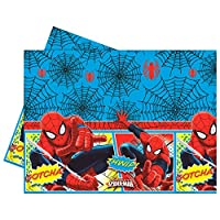Marvel Spiderman party tablecloth
