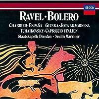 ラヴェル:ボレロ/チャイコフスキー:イタリア奇想曲、他