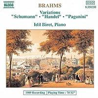 Variations (Handel, Schumann & Paganini)