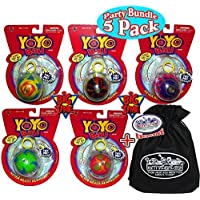 Big Time Toys Yo-Yo Ball Complete Party Set Bundle with Exclusive