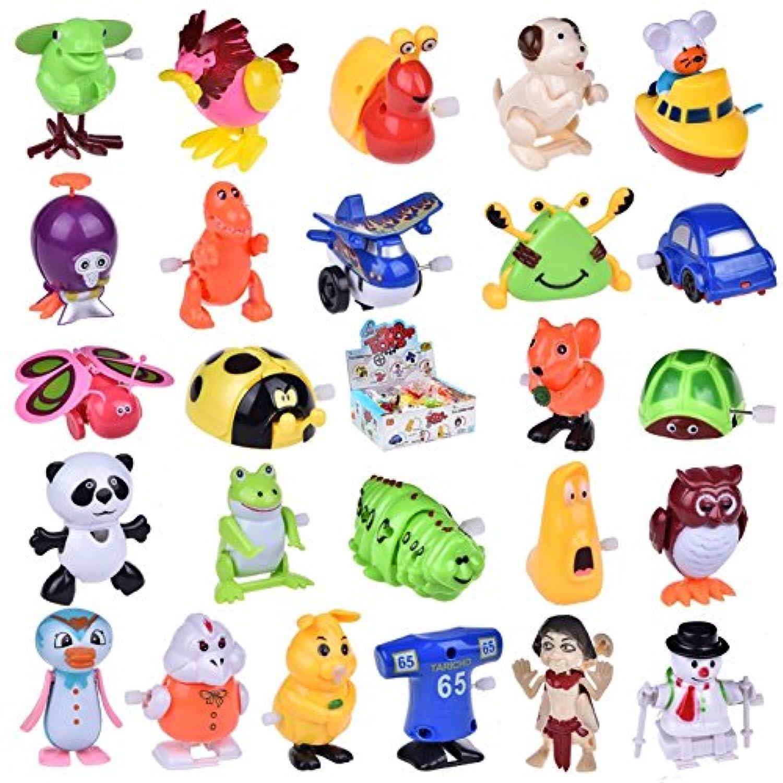 Assortedおもちゃ動物の子25個Figures