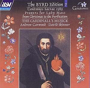 Byrd Edition 7: Cantiones Sacrae 1589