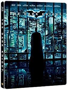 【Amazon.co.jp限定】ダークナイト (2枚組) ブルーレイ スチールブック仕様 [Blu-ray]