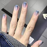 CanB False Nails Art Decoration Accessories Short Nails Acrylic Arificial Nails Fashion Press on Nail for Women and Girls