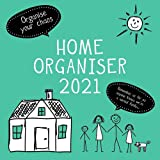 2021 Wall Calendar - Home Family Organiser Calendar, 12 x 12 Inch Monthly View, 16-Month, Home Organisers Theme, Includes 180