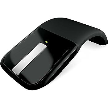 マイクロソフト ワイヤレス ブルートラック マウス Arc Touch Mouse ブラック RVF-00057