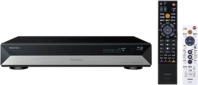 東芝 500GB 1チューナー ブルーレイレコーダー REGZA RD-BR600