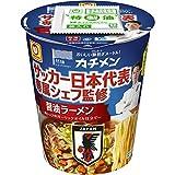 マルちゃん カチメン サッカー日本代表専属シェフ監修 醤油ラーメン 76g×12個