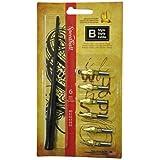 Speedball Calligraphy B Penset 6 Nibs and 1 Penholder