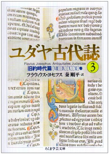 ユダヤ古代誌〈3〉旧約時代篇(8−11巻) (ちくま学芸文庫)の詳細を見る