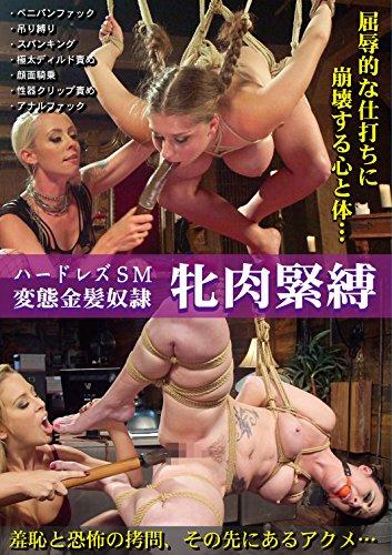 ハードレズSM変態金髪奴隷 牝肉緊縛 PAINBLOOD/妄想族 [DVD]