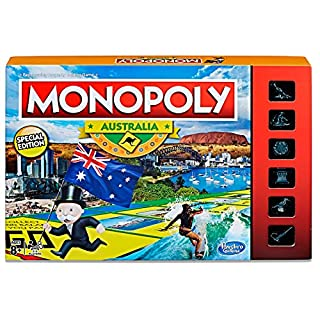 MONOPOLY - Australia Edition - 2 to 6 Players - Family Board Games - Ages 8+ (B0768KVCS6) | Amazon price tracker / tracking, Amazon price history charts, Amazon price watches, Amazon price drop alerts