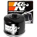 K&N Motorcycle Oil Filter: High Performance, Premium, Designed to be used with Synthetic or Conventional Oils: Fits Select BM