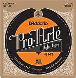 D'Addario ダダリオ クラシックギター弦 プロアルテ Silver/Clear Light EJ43 【国内正規品】