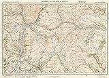 ロンズデール National Atlas | 1920シート20。Kirbyロンズデール& Hawes。| Historicアンティークヴィンテージマップ再印刷 24in x 32in 575646_2432