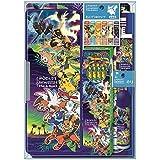 ショウワノート ポケットモンスター 文具ギフトセット クリスタルケースタイプ 950728M03