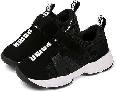 [Daclay] ダクレ 新しい 運動靴 黒 白 灰 男の子 女の子 子供たち スニーカー 子供靴 キッズ ジュニア 上履き 子供の靴 メッシュ カジュアルシューズ ボーイズシューズ 快適な軽量子供靴