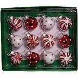 Kurt S. Adler GG0294 Ornament Set, Red, White
