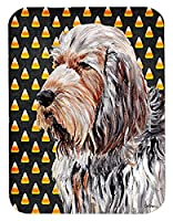 Caroline 's Treasures Otterhound Candy Corn Halloweenマウスパッド/ホットパッド/五徳( sc9660mp )
