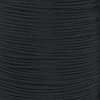ナイロン100 ftパラシュートコード7ストランド550lbテストu.s Made 100 ' ( Black )