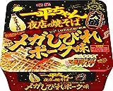 明星 一平ちゃん 夜店の焼そば 大盛 メガしびれポーク味 164g×12個
