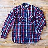 【 Lee / リー 】 ネルチェック ワークシャツ レッド Mサイズ