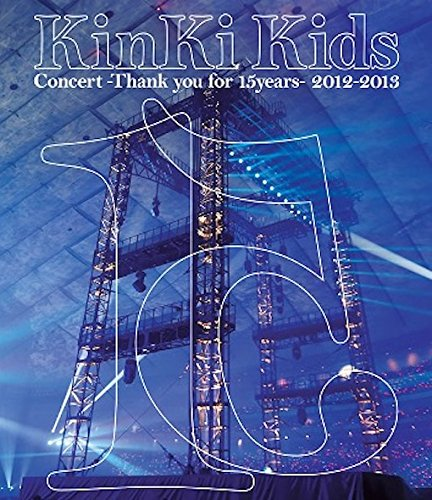 KinKi Kids Concert -Thank you for 15years- 2012-2013(Blu-ray仕様)