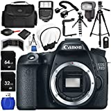 Canon EOS 70D DSLR Camera (Body Only) 17PC Accessory Bundle - Includes 64GB SD Memory Card + 32GB SD Memory Card + Memory Card Reader + Memory Card Wallet + MORE [並行輸入品]