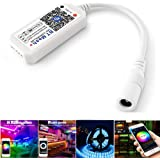 LED Controller, Bluetooth Mesh Smart RGB Controller for LED Strip Lights, More 64 LED Strip Collaborations, Dimmable Colors,